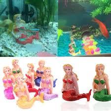1pc new resin the aquarium mermaid fish tank ornaments home