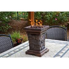 Propane Camping Fire Pit Furniture Make Your Patio More Lovely With Propane Fire Pit For