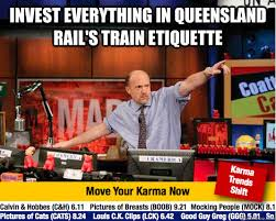 Queensland Memes - invest everything in queensland rail s train etiquette mad karma