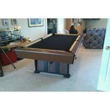 purple felt pool table home