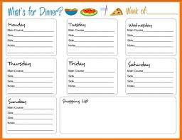 menu planners templates cing menu planner template 28 images weekly meal planner page