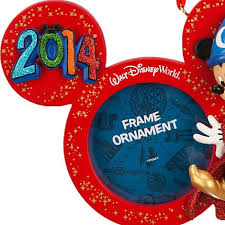 your wdw store disney frame ornament 2014 sorcerer
