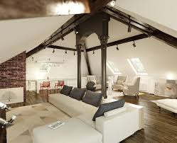 luxury white nuance of the loft decorating ideas that has white