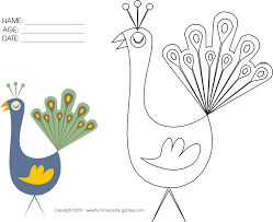 free printable coloring activity pages for kids by fun free party