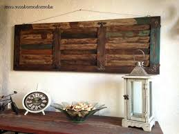 wall ideas metal wood wall decor rustic metal wood wall