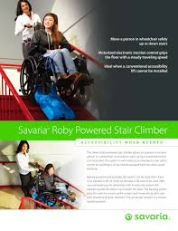 Rotating Stair Machine by Roby Powered Stair Climber Savaria Concord Pdf Catalogues