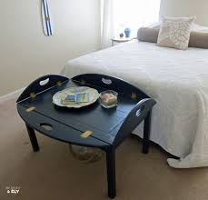 navy blue accent table table blue accent table navy ottoman coffee thin barnwood