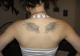 26 ethereal angel wing tattoos for 2013 creativefan