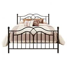 Metal Bed Headboard And Footboard Queen Size Metal Bed Headboard And Footboard In Black Finish Tags