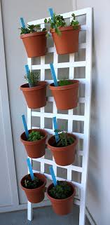 diy vertical herb garden diy space saving herb garden
