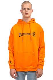 Black Flag Wasted Wasted London Hoodie Orange Black Buy At Skatedeluxe