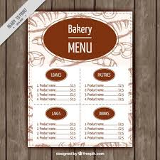 menu templates 21 free restaurant menu templates