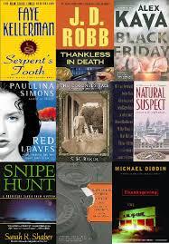 murder mysteries thrillers and suspense novels around the