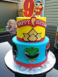 25 power rangers birthday cake ideas power