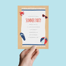 10 summer party invites you can send in 5 minutes