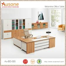 Wood Office Desk Maple And White Wood Office Desk With Long Cabinet Buy Wood