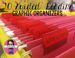 Guided Reading Grab & GO Graphic Organizers for Reader Responses