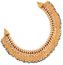 gold round necklace images Gold necklace laxmi gold necklace retailer from kochi png
