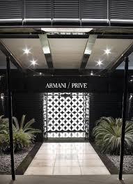 Armani Dubai by Armani Privé Lounge Dubai Centurion Magazine
