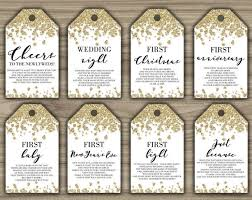 bridal shower wine basket bridal shower wine crate gift set with 8 tags and shower card