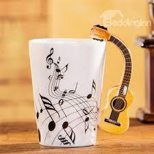 creative mug designs creative musical theme guitar design handle ceramic coffee mug