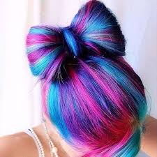 cool hair bows colored hair styles best 25 cool hair ideas on cool hair