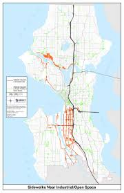 Map Of Seattle Maps Cause Neighborhood Stir Over Seattle Encampment Protections