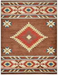 Design Area Rugs South West American Area Rug 8 Ft X 10 Ft