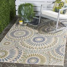 Indoor Outdoor Rug Safavieh Caroline Indoor Outdoor Rug In Green U0026 Reviews Wayfair