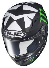 monster energy motocross helmets mild to wild with the rpha 10 motorcycle helmet by hjc helmets