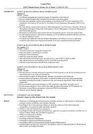proper resume format 2017 occupational health safety occupational health resume sles velvet jobs