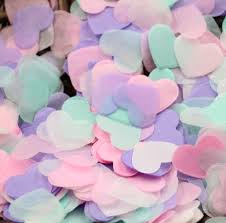 Baby Shower Pastel - aliexpress com buy 10g bag 1 inch pastel heart confetti wedding