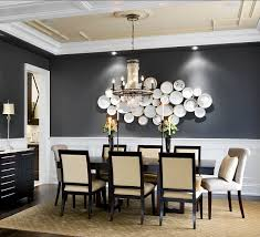 Simple Flower Dining Room Paint Ideas With Chair Rail Best - Dining room decor ideas pinterest