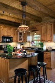ilot central cuisine bois ilot cuisine bois idaces cuisine focus sur la cuisine chalet