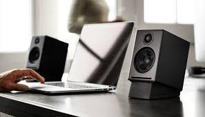 kanto yu2 powered desktop speakers desktop speakers speakers