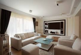 blue vintage sofas pattern modern living room brown leather sofa