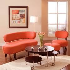 Orange Sofa Chair Furniture Discount Living Room Furniture Inspiration Discount