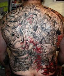 for unique tattoos death of a samurai u003d
