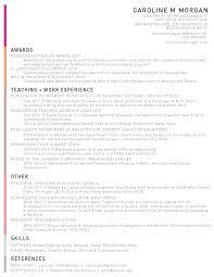 Resume For Architecture Student Resume U2014 Caroline M Morgan