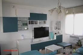 domotique cuisine meuble tv blanc et bois ikea pour idees de deco de cuisine