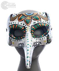 day of the dead masks avion day of the dead mask chicago costume