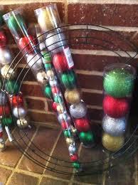 as a pepin yarn ornament wreath