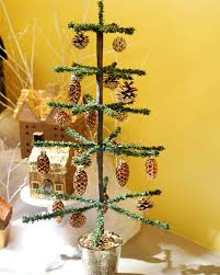 tinsel tree tabletop tinsel tree martha stewart