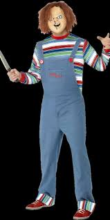 chucky costume licensed chucky costume with chucky mask
