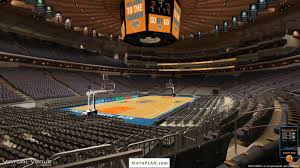 madison square garden seating chart section 114 view mapaplan com
