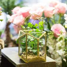 hanging candle holder glass terrarium candles decoration
