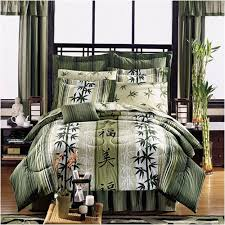 theme comforters asian theme bedding japanese style haiku design complete bed in