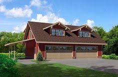 traditional 4 bay garage with loft in the size of 3068 1 58 u0027 x