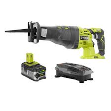 Ryobi 5 Portable Flooring Saw by Ryobi 18 Volt One Lithium Ion Cordless Reciprocating Saw Kit With