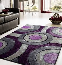 Purple And Black Area Rugs Purple And White Area Rugs Visionexchange Co